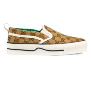 Brand New! Gucci Tennis 1977 Slip on Sneakers sz39